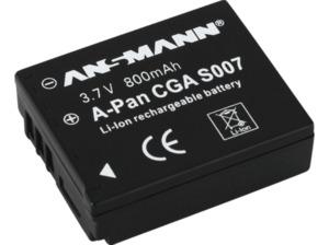 ANSMANN A-Pan CGA S 007 Akkupack, Li-Ion, 800 mAh