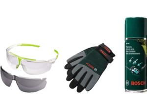 BOSCH 1600A00ZZ8 Woodcare Kit Gartenpflege-Set