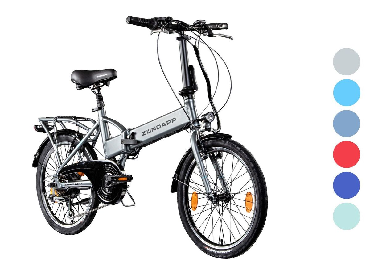 Bild 1 von Zündapp 20 Zoll Faltrad E-Bike Klapprad Pedelec StVZO