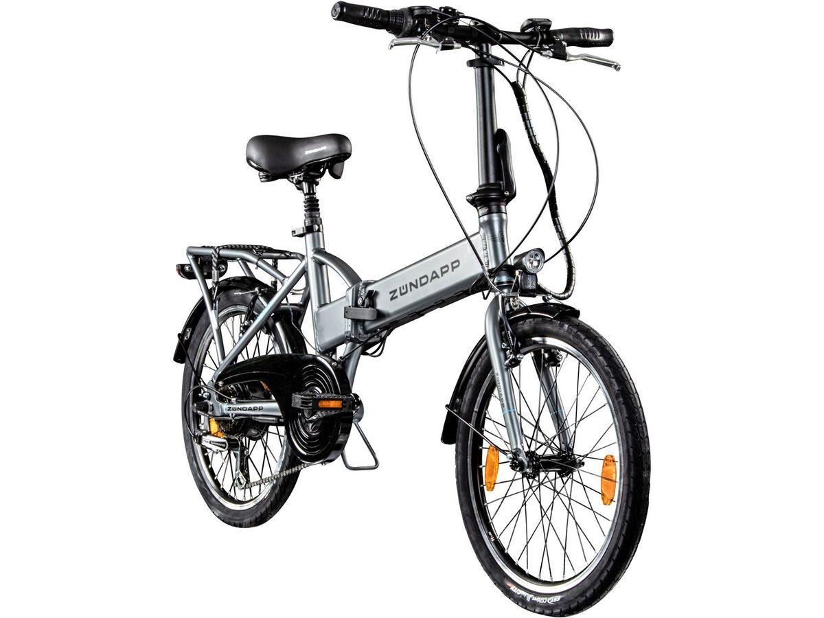 Bild 3 von Zündapp 20 Zoll Faltrad E-Bike Klapprad Pedelec StVZO