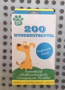 Hundekotbeutel mit Frischeduft 200St