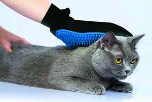 Fellpflegehandschuh für Heimtiere