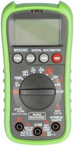Burg Wächter Strommessgerät »Digital-Multimeter MULTI PS 7455«, Strom messen und Spannungen überprüfen