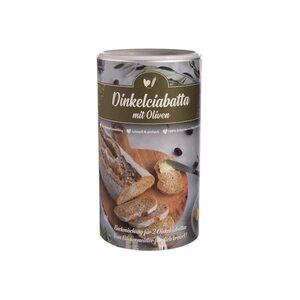 Backmischung Dinkelciabatta mit Oliven