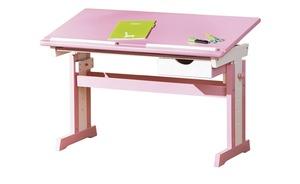 Schreibtisch  Loire - rosa/pink - 109 cm - 63 cm - 55 cm