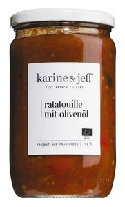 Karine & Jeff Ratatouille mit Olivenöl 660g   - Saucen, Pesto & ..., Frankreich, 0.6600 kg