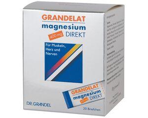 DR. GRANDEL GRANDELAT magnesium DIREKT 400 mg 20 Briefchen