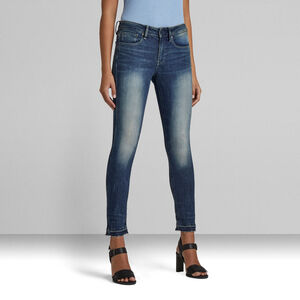 3301 Mid Skinny Ankle Jeans