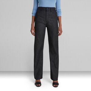 Tedie Ultra High Straight Jeans