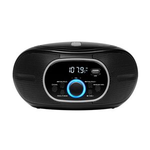MEDION LIFE® E65711 Boombox mit CD/MP3-Player, PLL-UKW Stereo-Radio, AUX, USB Anschluss, 2 x 12 W (B-Ware)