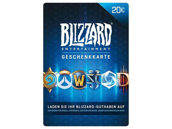 Blizzard Geschenkkarte über 20 €