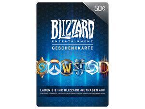 Blizzard Geschenkkarte über 50 €