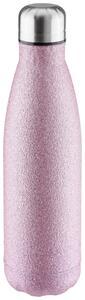 Isolierflasche Glitter in Pink ca. 500ml