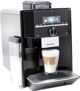SIEMENS Kaffeevollautomat EQ.9 s300 TI923509DE, individualCoffee System: Persönliches Getränke-Menü für bis zu 6 Profile.