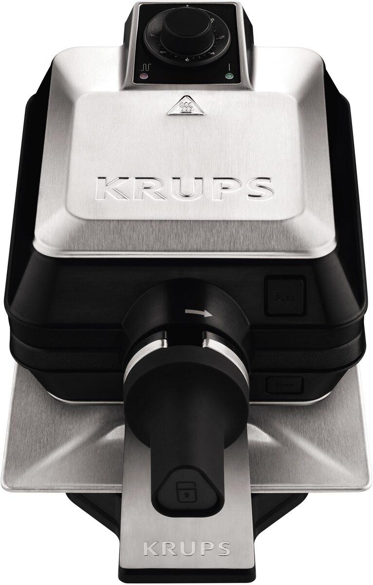 Bild 3 von Krups Waffeleisen FDD95D Professional, 1200 W, Backraum drehbar