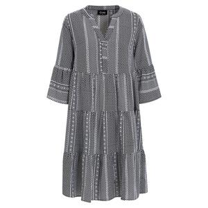Damen kleid mit Minimal-Print