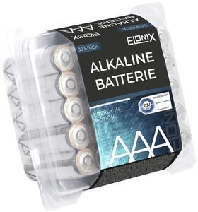 Batterie Alkaline AAA 30er Packung