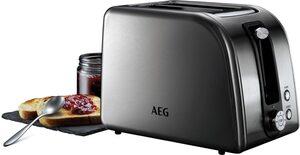 AEG Toaster PremiumLine 7000Series AT 7750, 2 kurze Schlitze, 850 W