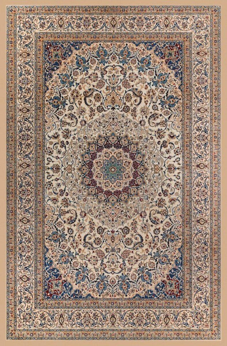 Bild 5 von Teppich »Luca«, Home affaire, rechteckig, Höhe 4 mm, Druck-Teppich, waschbar, Orient-Optik, Wohnzimmer