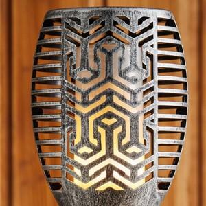 Castell  Outdoor-Lampe, Silber
