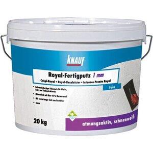 Knauf Royal Fertigputz 1 mm Körnung 20 kg