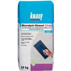 Knauf Diamant Mineralputz 2,8 mm Körnung 25 kg