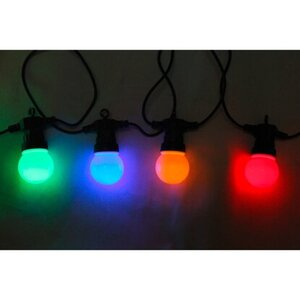 Globo LED-Lichterkette 12,5 m EEK: A-A++