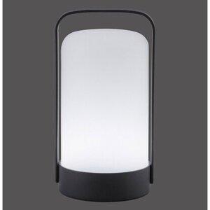 LED-Outdoor-Tischleuchte Keno Schwarz RGB