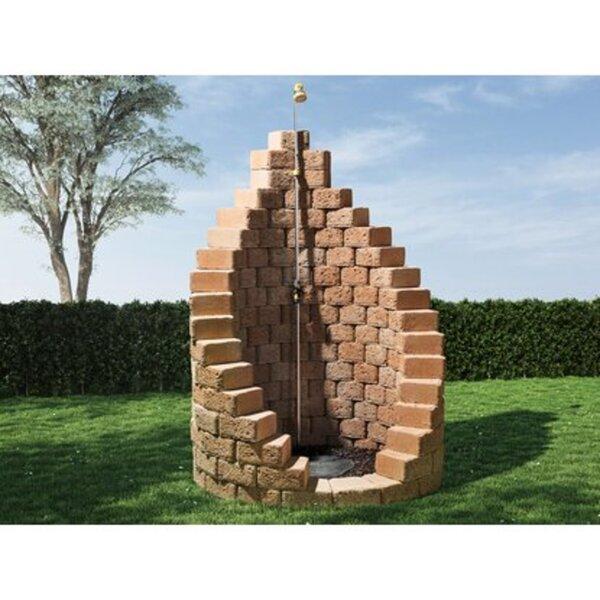 EHL-Gartendusche Bausatz Sand Ø 123 cm