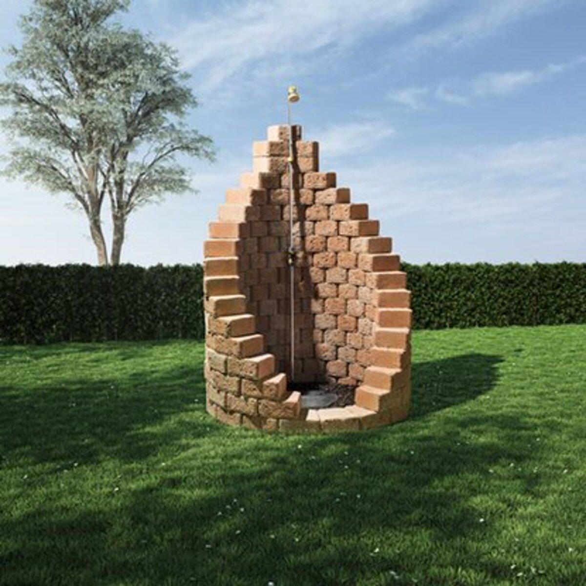 Bild 2 von EHL-Gartendusche Bausatz Sand Ø 123 cm