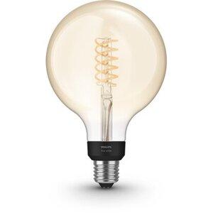 Philips Hue LED-Lampe Filament Giant Globe E27/7 W 550 lm Bluetooth EEK: A+