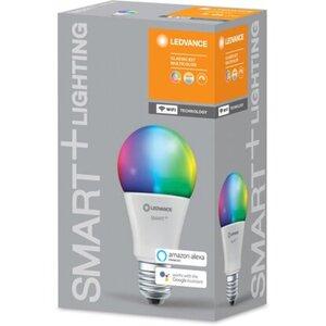 Ledvance Smart+ WiFi LED-Lampe Kolbenform E27/10W 806lm RGBW Farbwechsel
