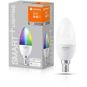 Ledvance Smart+ WiFi LED-Lampe Kerzenform E14/6,5W 470lm RGBW Farbwechsel