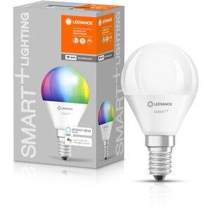 Ledvance Smart+ WiFi LED-Lampe Tropfenform E14/6,5W 470lm RGBW Farbwechsel