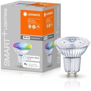 Ledvance Smart+ WiFi LED-Reflektorlampe PAR16 GU10/5,5W 350lm RGBW Farbwechsel