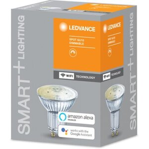 Ledvance Smart+ WiFi LED-Reflektorlampe PAR16 GU10/4,5W 350lm Warmweiß dimmbar