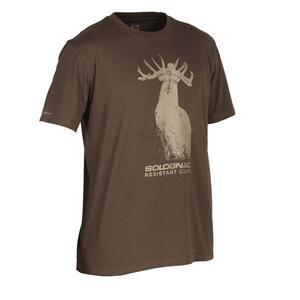 Jagd-T-Shirt 100 Hirsch
