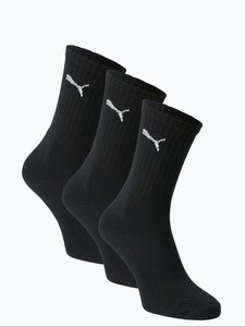 Puma Herren Socken im 3er-Pack schwarz Gr. 39-42