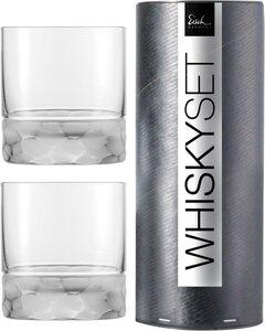 Eisch Whiskyglas »Hamilton«, Kristallglas, handgefertigt, bleifrei, 2-teilig