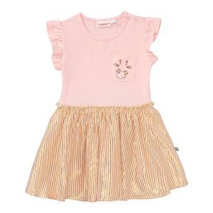 Baby-Mädchen-Kleid mit Flügelärmel