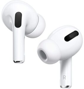 Apple »AirPods Pro mit Wireless Case / MWP22ZM/A« In-Ear-Kopfhörer (Bluetooth, Kompatibel mit iPhone, iPhone XR, iPhone Mini, iPad Air, iPad Mini, iPad Pro, Watch SE, Series 6, Series 5, Series 4,