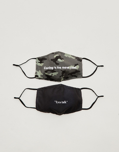 Stoffmasken in 2er Pack