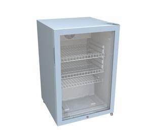 METRO Professional Glastürkühlschrank GSC2125, 118 l, Weiß