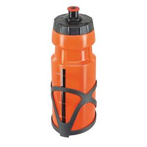 Trekking-Trinkflasche mit Halter, 0,7 l Fassungsvermögen, farblich sortiert*, 1 Stück