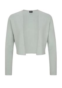 Damen Open Front-Jacke aus Feinstrick