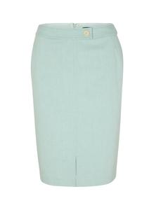 Damen Pencil Skirt mit Musterstruktur