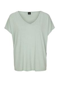 Damen Shirt in glänzender Optik