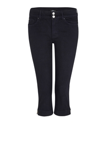 Damen Skinny Fit: Capri-Jeans