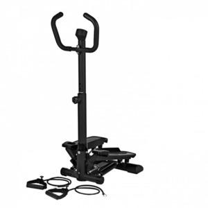 VITALmaxx Fitnesstrainer Swing Stepper, schwarz
