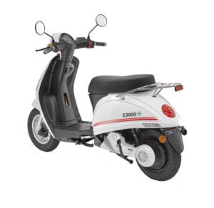 LuXXon E-Roller E3000 45 km/h (Mokick-Klasse), weiß